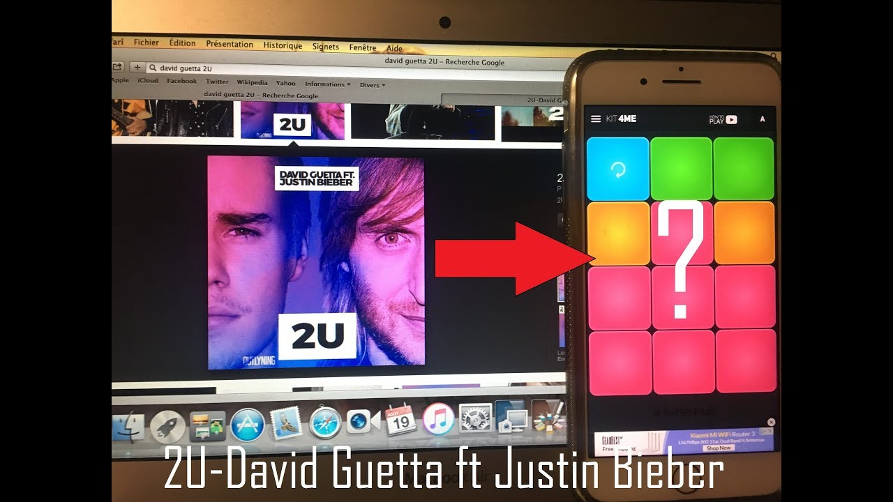 Super Pads: 2U-David Guetta ft Justin Bieber (Cover)