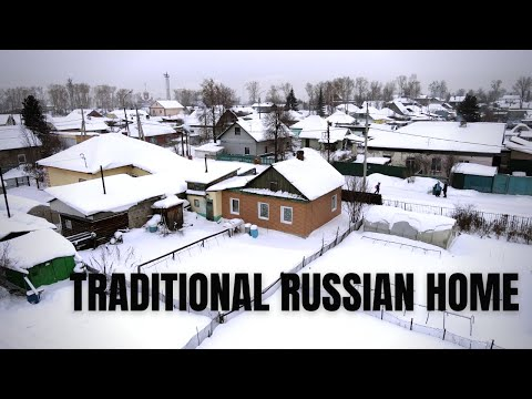 VISITING A TRADITIONAL RUSSIAN HOUSE - How some people in Siberia live. Russia Travel Vlog 2021 🇷🇺