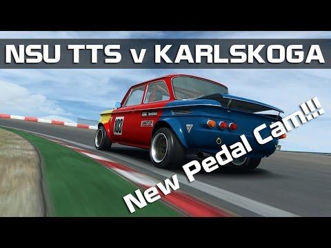 RaceRoom Racing Experience - NSU TTS v Karlskoga **NEW PEDAL CAM**