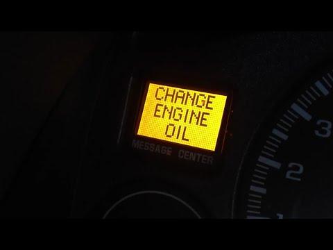 2000 chevy silverado 1500 change oil light