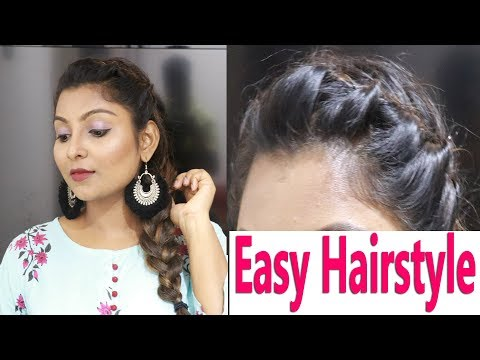 Quick and Easy hairstyle in 3 mins| Diwali Special | Rose Tamil Beauty & Makeup thumbnail
