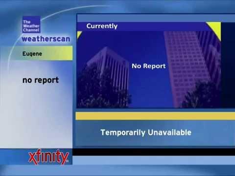 Weatherscan for Eugene, OR