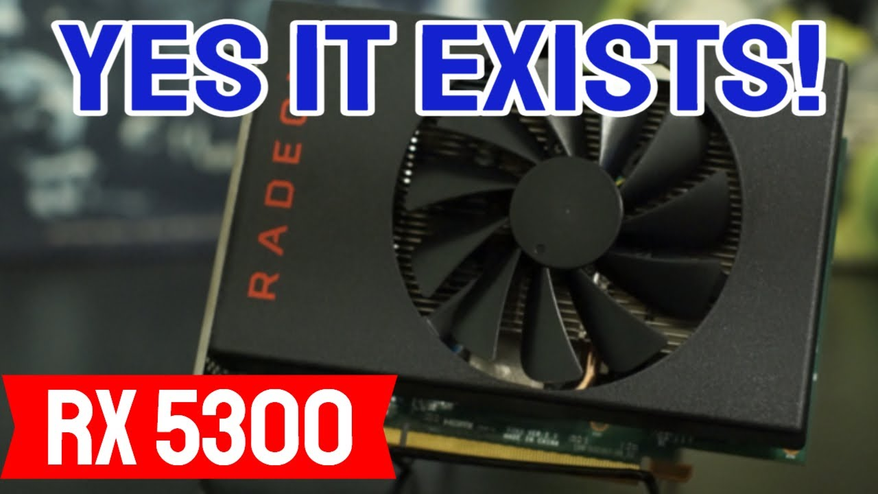 Download Radeon RX 5300: Gaming Benchmark and Review