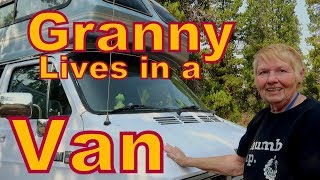 Granny Lives in a VAN
