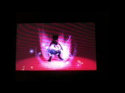 Pokemon X and Y Shiny Mega Mewtwo X