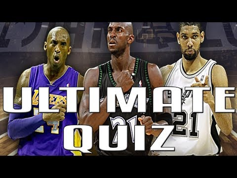 THE ULTIMATE NBA QUIZ