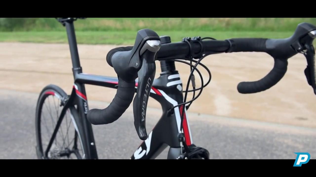 db33b04fe4 Ridley Fenix carbon start to ride - YouTube