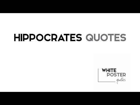 BEST 7 Hippocrates Audio Quotes Design / WPQ