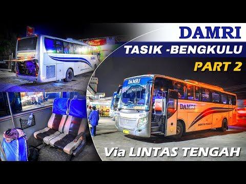 Bus Ini Gak Jalan Tiap Hari - TASIK - BENGKULU Naik Bis DAMRI Part 2 - 동영상