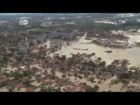 "Balkan countries face flooding ""catastrophe"" 