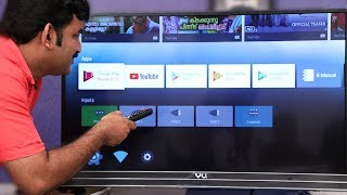 vu 4k android tv Malayalam Reviews
