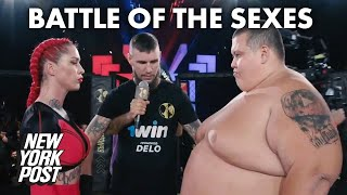 MMA gets really weird in Russia: Female star destroys 530-pound man | New York Post