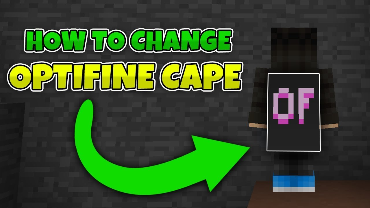 How to change Optifine cape in 8! - YouTube