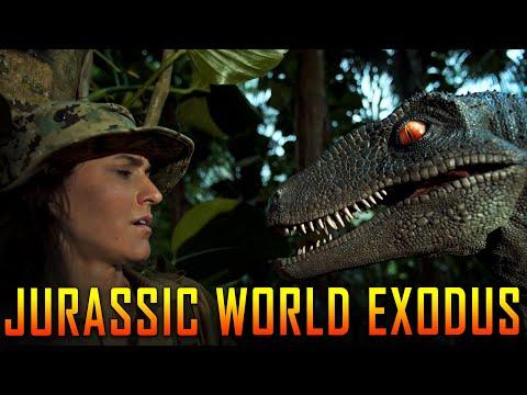 Jurassic World Fallen Kingdom Fan Film - Jurassic World Exodus Full Movie