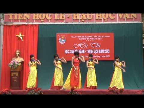Múa Quê tôi - Phan Thị Thanh Thanh và vũ đoàn 10A1