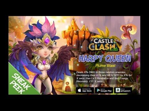 8/8 Talents & Harpy Queen Gameplay
