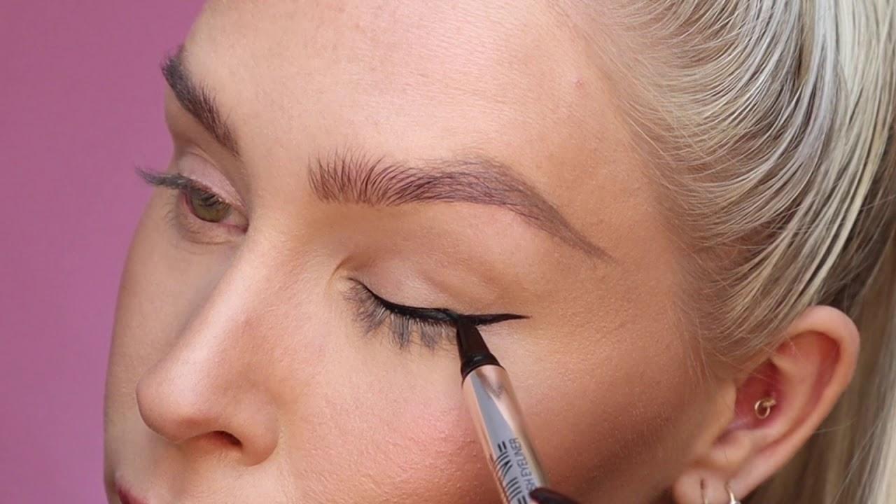 FINE LINE Brush Eyeliner - Makeup Mekka