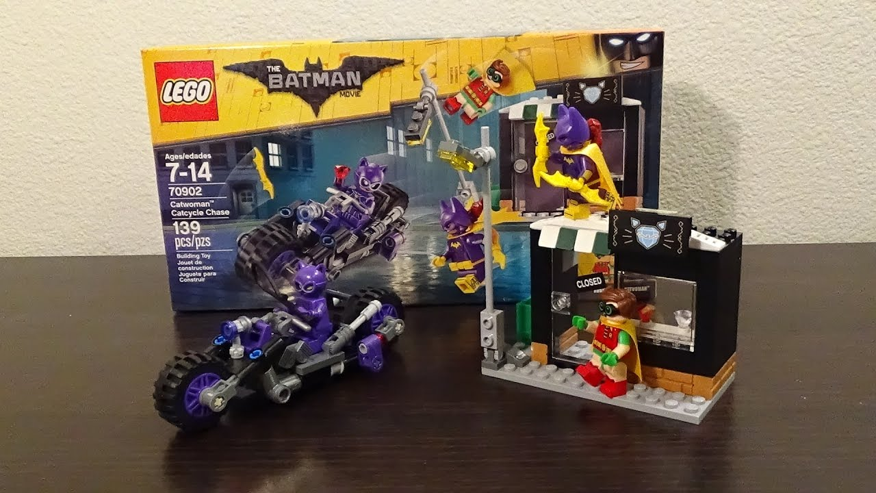 Catcycle Chase Review Movie Batman Catwoman Set The 70902 Lego SpzVUM