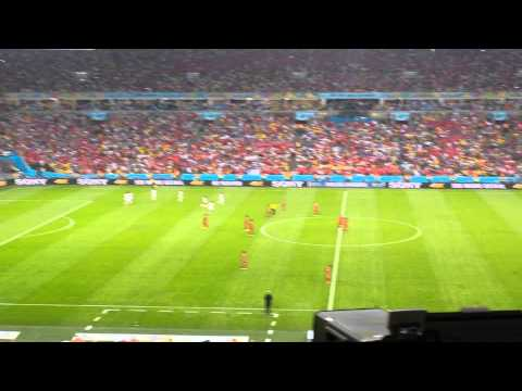 Chile's 2nd Goal Against Spain; Estádio Maracanã, Rio, June 17 2014