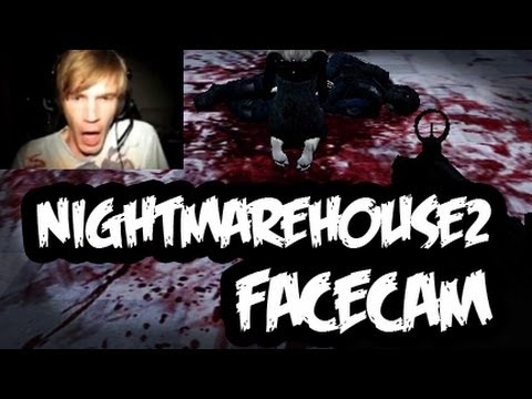 Nightmare House 2: Playthrough - Part 1 -  THIS GAME IS SCARY ;_;