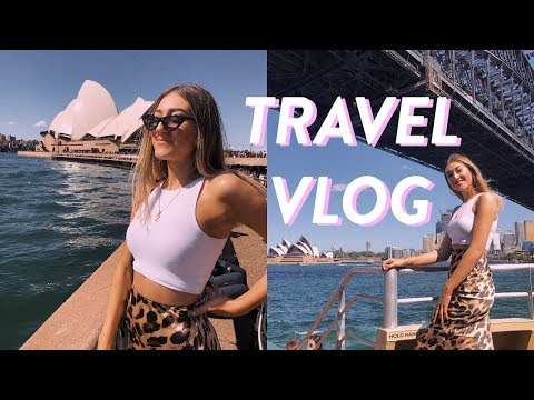Being a TOURIST in my OWN COUNTRY! Vacation vlog Sydney Australia part 1!