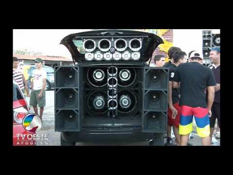 Paredão de Som - 2º Encontro de Som Automotivo - Pau dos Ferros - RN - 24.07.2011 - TV OESTE