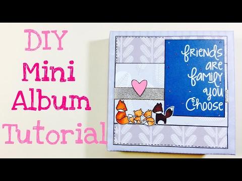 DIY Mini Album 6''x6''  [tutorial | deutsch]