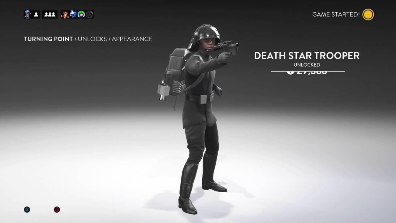 Unlocking The Death Star Trooper! Rank 80 Star Wars