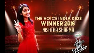 Nishtha Sharma || Winer the voice India kids 2016 ||  Sultanpur People Celebrating With her father