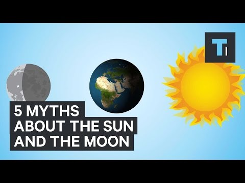 5 myths about the sun and the moon