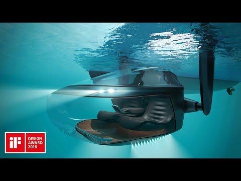 Luxurious semi- submersible Scyllias - experience