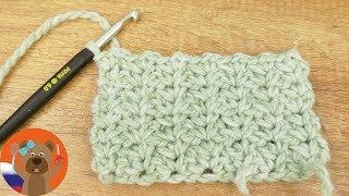 Узор Мини-птичка   Простое вязание из столбиков без накида и воздушных петель Учимся вязать крючком