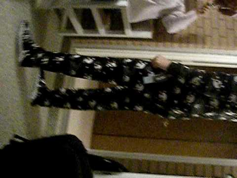19yr. OLD in footie pj's