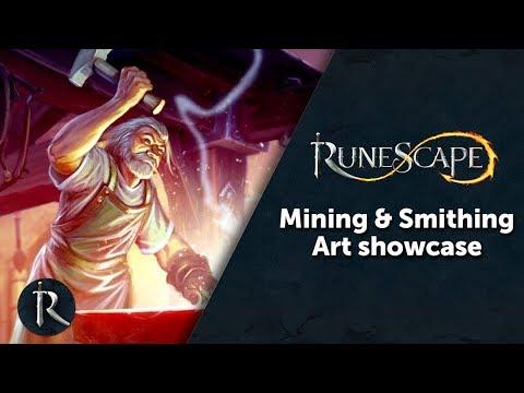 RuneScape - Mining & Smithing Art Showcase