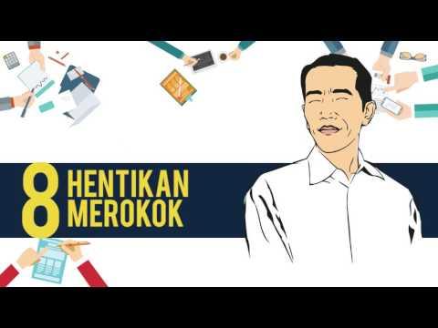 10 PESAN PRESIDEN JOKOWI UNTUK WUJUDKAN INDONESIA SEHAT
