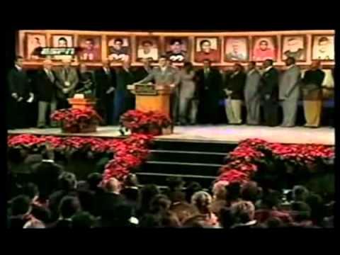 Tim Tebow -Story Heisman Trophy Speech