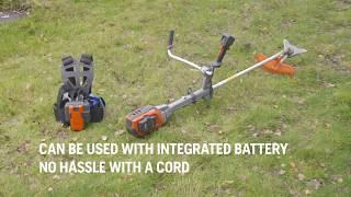 HUSQVARNA Battery Brushcutter 535iRXT - Truly Cordless and Full Battery Flexibility
