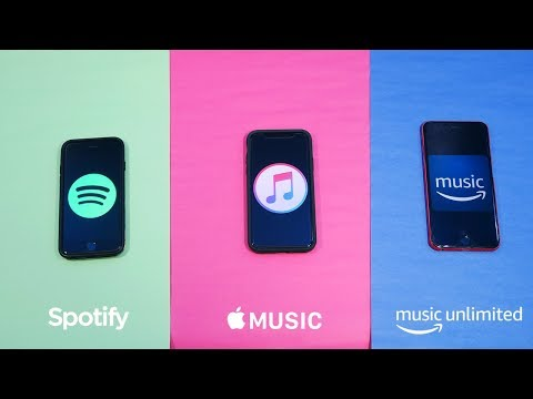 Spotify vs Apple Music vs Amazon Music Unlimited! (Features, Value, Music Quality & Music Library)