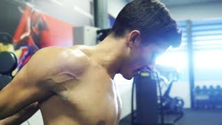 Marc Marquez hits the gym for the MotoGP season