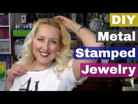 DIY Stamped Metal Jewelry!