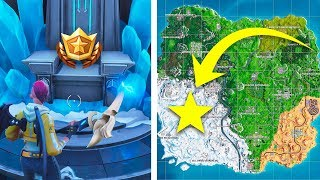 Secret Battle Star Charge Écran WEEK 7 - FORTNITE WEEK 7 CHALLENGES