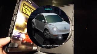 Downtown Run, PC, Some cars, Ubi Soft, 2003, PlayStation 2, PS2, Gamecube, arcade racing