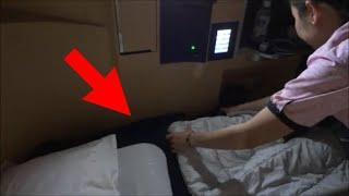 これが日本のおもてなし ANA国際線 ファーストクラス東京 ⇒ ニューヨーク B777-300ER thumbnail