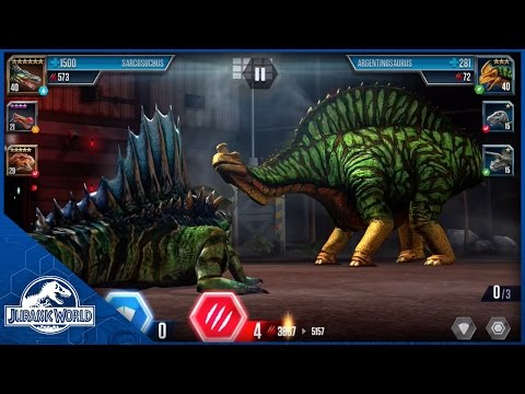 Battle: Level 40 Sarcosuchus vs Level 35 Argentinosaurus