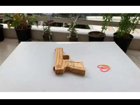 Rubber Band Pistol with Dremel