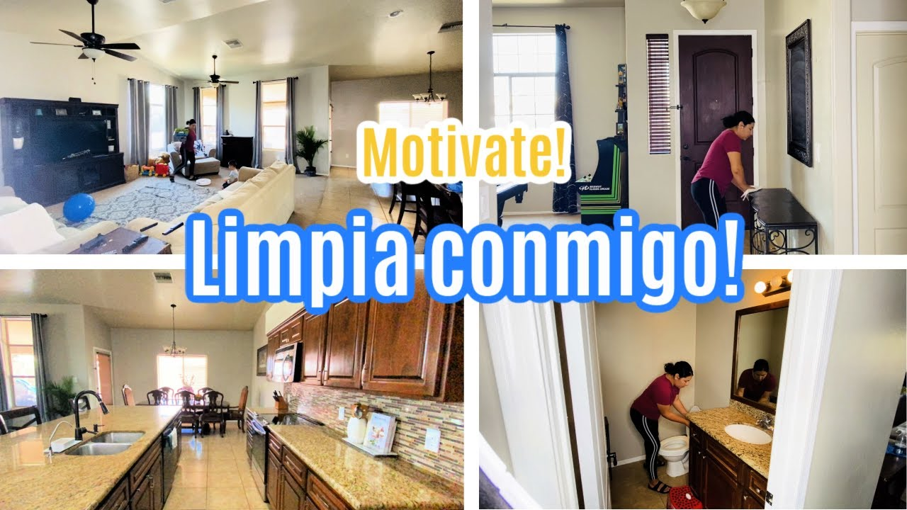 MOTIVATE A LIMPIAR! LIMPIA CONMIGO 2020/ Speed cleaning / clean with me