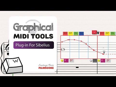 Graphical MIDI Tools - Plugin for Sibelius