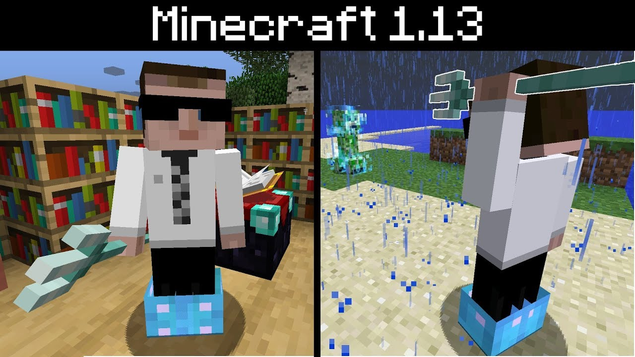 minecraft trident riptide and loyalty