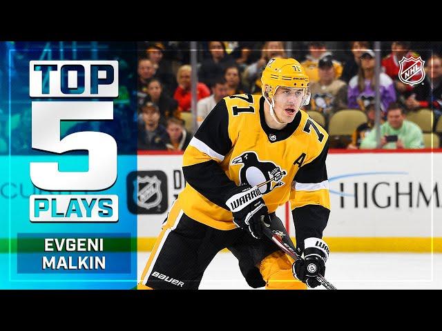 Top 5 Evgeni Malkin Plays from 2019-20 | NHL
