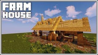 minecraft medieval farmhouse building sausage